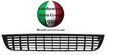 GRIGLIA PARAURTI ANTERIORE ANT INFERIORE INF NERA FIAT GRANDE PUNTO 05> 2005>