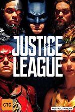 Justice League Genuine Australian DVD (Blu-ray, 2018)