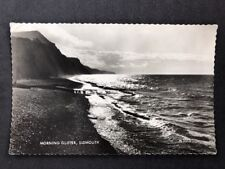 Vintage Real Photo Postcard #TP704: Morning Glitter, Sidmouth: Posted