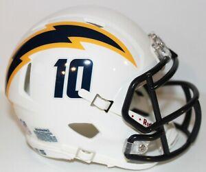 2020 Los Angeles Chargers Custom Alternate #2 Riddell Mini Helmet