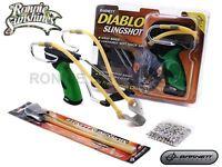 Barnett Diablo Ultimate Hunting Slingshot Catapult Kit