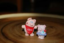 Hallmark Valentines Merry Miniatures Pigs Set of 2