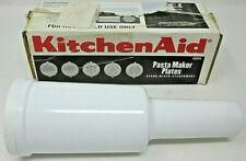 KitchenAid SNPA Pasta Maker Plates Stand Mixer Attachment in Original Box USED