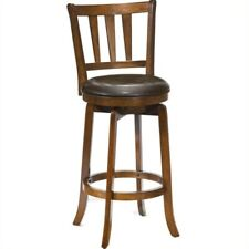 """New listing Hillsdale Presque Isle 25.5"""" Swivel Counter Stool in Cherry"""