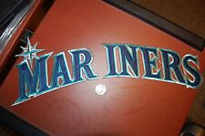 "Seattle Mariners 17"" Patch 1993-2014 Home White Jersey Logo Baseball"