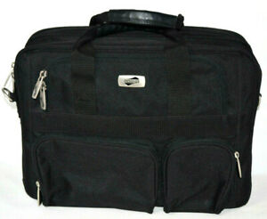 American Tourister Carry On Travel Bag Laptop Case Over Night Luggage Black 17 ✈