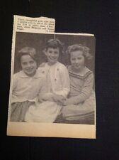 K1-9 Ephemera 1962 Picture Thanet Jumble Sale Jane Chapman A Magrath Biggs