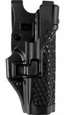 Blackhawk SERPA Level 3 Duty Holster Right Basketweave Color Black Size SW MP 44H125BWR