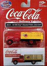 HO Scale Classic Metal Works 1941-46 Chevy Stake Bed 'Coca Cola' Item #30510