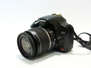 Excellent Canon EOS Rebel XSi 12.2MP DSLR Camera w/EF-S 18-55mm Lens- 14K Clicks