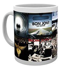 BON JOVI albums de musique Rock Tasse À Thé Tasse De Café Tasses