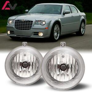 For Chrysler 300 07-09 Clear Lens Pair Bumper Fog Light Lamp OE Replacement DOT