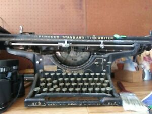 A 1922 Underwood Standard Typewriter