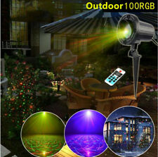 Outdoor RGB Laser Light Star Projector Static Dots Landscape Projector Xmas YC
