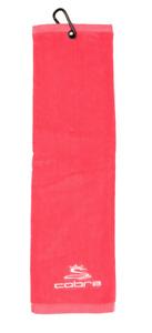 Cobra Golf Tri-Fold Rasberry Golf Towel Breast Cancer Awareness (MSRP $18)