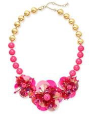 KATE SPADE NEW YORK VIBRANT LIFE FLOWER NECKLACE NWT