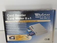 TEVION 8 in 1 CARD READER / CARD WRITER WITH USB 2.0