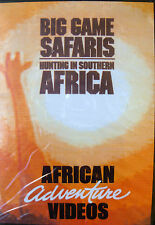 Big Game Safaris Hunting in Southern Africa DVD by African Adventure Videos