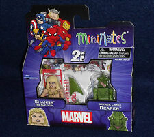 Marvel MiniMates 51 SHANNA THE SHE-DEVIL & SAVAGE LAND REAPER Figure 2 PK