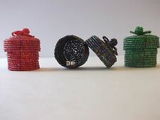 NEW Three Beaded Ring Boxes