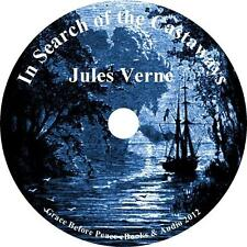 In Search of the Castaways, Jules Verne Action Adventure Audiobook on 1 MP3 CD