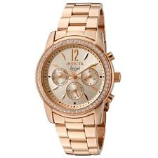 Invicta 11774 Women's Angel Diamond Bezel Rose Gold Bracelet Watch