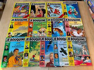 lot 13 livres / magazines JE BOUQUINE - parmi n°25 à 73 - 10 15 ans