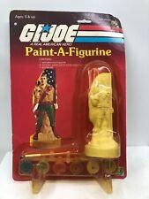 Vintage 1984 Hasbro GI Joe Duke Paint A Figure Sealed  Carded MOC RARE