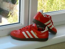 Adidas Samba Leather Red Sneakers 2005 Shoes US6,5 UK6 FR39,3 245mm