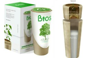 Bios Urn Memorial Biodegradable With Seed For Humans Or Pets Grows Into A Tree