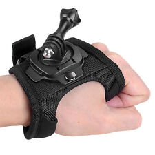 360° Glove  Wrist Mount Band Strap Accessories for GoPro Hero 4/3+/1 Camera#