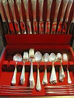 "Towle ""Royal Windsor"" Sterling Silver 94 piece Flatware Set Service for 12"