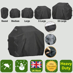 Various Sizes BBQ Cover XS-XXL Heavy Duty Barbecue Grill Kettle Smoker Storage