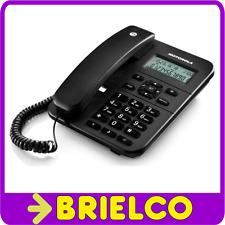 TELEFONO CON CABLE MOTOROLA NEGRO MANOS LIBRES IDENTIFICADOR LLAMADAS BD5318