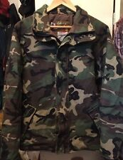 Vintage Cabela's Whitetail Clothing Gore-Tex Hunting Shooting Camouflage Jacket.