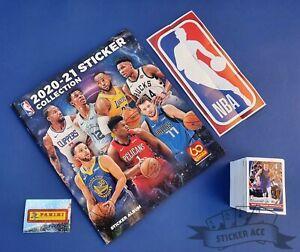 PANINI NBA Basketball 2020/21, complete loose stickers set + empty album