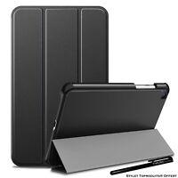 Coque Smart Noir Premium pour Samsung Galaxy Tab A 8.0 2019 SM T290 T295