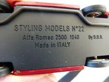 Styling Models BBR n°22 Alfa Romeo 2500 1940