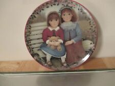 """Kindred-Moments - First Issue Plate- """"Sisters Are Blossoms"""" - by Chantal Poulin"""