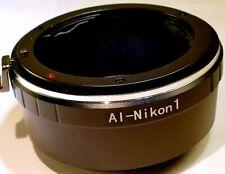 Nikon F Lens  (Ai, Ai-s) to Nikon 1 camera Mount adapter Ring  V2 J2 J4 S2 AW1
