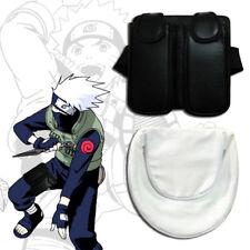 Anime Naruto Kakashi Bag Cosplay Waist Bag Shuriken Kunai Holder Black&White 2pc