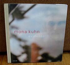 SIGNED Mona Kuhn Evidence Color Photographs Portraits Nature HC 1st Edition