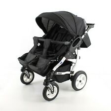 TWINS DUO STARS ADBOR Double TWINS Pram ;certified to BS5852