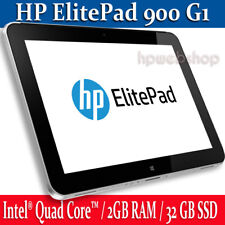 HP ElitePad 900 G1 Tablet 32GB SSD 2GB RAM complete with PSU