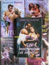MADELINE HUNTER * PER VENDETTA O PER AMORE+ DIMMI CHE MI AMI+IL TUTORE+PECCATI..