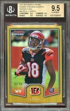 2011 bowman chrome rc preview refractors #bcr8 A.J. GREEN rc BGS 9.5 9.5 9.5 9.5