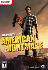 Alan Wake's American Nightmare PC Games Windows 10 8 7 XP Computer action NEW