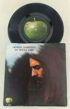 "GEORGE HARRISON "" MY SWEET LORD ""SUPERB UK RARE CBS CONTRACT 45 IN HEAD SLV"