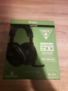 Turtle Beach Stealth 600 Black/Green Wireless Headsets for Xbox One or PC *NEW*