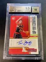 TRAE YOUNG 2018 PANINI CONTENDERS #3 UP & COMING AUTO /199 ROOKIE RC BGS 9.5 10